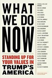 What We Do Now Standing Up For Your Values In Trumpand039s America By Dennis Johnson