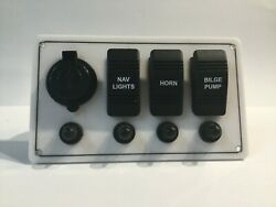 Switch Boat Panel Ready To Go All Oem Component Usb Outlet And Switch Cover