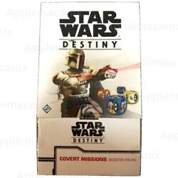 Star Wars Destiny Covert Missions Booster Box Ffg 36 Game Packs Eng Fact Sealed