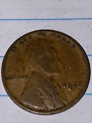 1927 Lincoln Wheat Penny One Cent