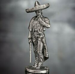 Toy Soldiers Wild West Bandit Tin Miniature Gangster Action Figures 1/32 54mm