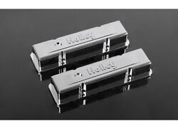 Rc 4wd Z-s1500 1/10 Holley Chrome Valve Covers For Scale V8 Engine Rwdz-s1500