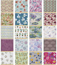 Ambesonne Floral Tropical Microfiber Fabric By The Yard For Arts And Crafts