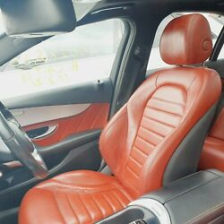 2016 Mercedes C-class Interior Furnishing Seats And Door Cards 220d Amg Line