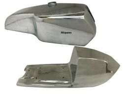 Petrol Fuel Tank And Seat Alloy For Cafe Racer Yamaha Tz Rd250 Rd350 Td @us