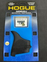 Hogue Handall Beavertail Rubber Grip Sleeve For Glock 26/27 Same Day Fast Shippi