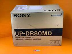 Sony Digital Color Printer In Original Box Up-dr80md W/ Owners Manual
