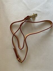 Dooney And Bourke Tan Natural Leather Replacement Adjustable Crossbody Strap $35.00
