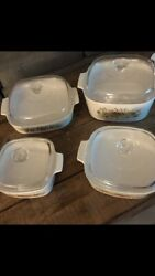 Vintage Corning Ware Spice Of Life Set 10 Pieces Total