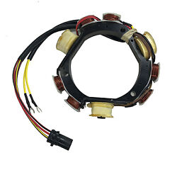 Johnson Evinrude Outboard Stator 1992-199640-50hp 1993-200150,60/70hp3cyl