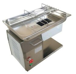 Commercial 110v Qh Meat Slicer Meat Cutting Machine 5.7and039and039 Inlet With 3mm Blade