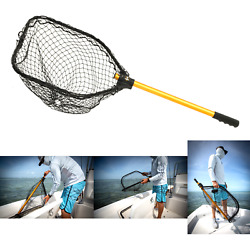 Frabill Power Stow Poly Net   Foldable Fishing Net For Easy Storage   For Fre...