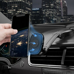 360anddeg Magnetic Car Mount Cell Phone Holder Stand Dashboard For Iphone 12 Pro Max