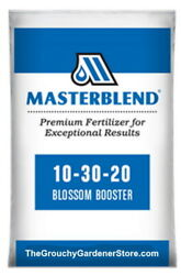 Masterblend Professional Blossom Booster 10-30-20 Fertilizer 2lbs Water Soluble
