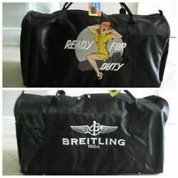 Breitling Duffle Bag Authentic Brand New - Large - Iconic Kevin T Kelly Pop Art