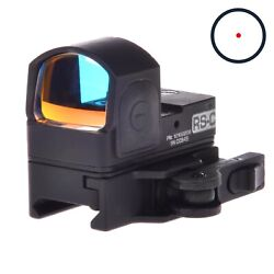 Rs-c Red Dot Sight. Russian Collimator Scope For Weaver Picatinny. Belomo. 2 Moa
