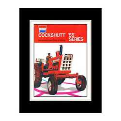 1970 Cockshutt Tractors - Matted For 11x14 Frame