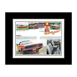 1968 Dodge Charger Fever - Matted For 11x14 Frame