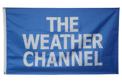 The Weather Channel Banner Flag College Dorm Wall Decor 3x5Feet