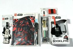 Lego Star Wars Bag Tag Journal Usb Booklite Eraser Ballpoint And Invisible Ink Pen
