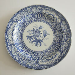 """One The Spode Blue Room Collection Floral Dinner Plate 10-1/4"""" Free Shipping"""