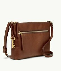Fossil Fiona Leather Crossbody Brown Bag ZB7668200 NWT $108 $54.99