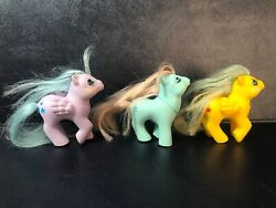 My Little Pony G1 Colombia 2 Baby First Tooth Pegasus Vintage 1 Baby Blossom Use