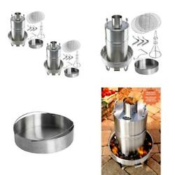 Outdoor Convection Cooker Stainless Bbq Smoker Turkey Fryer 2-pack