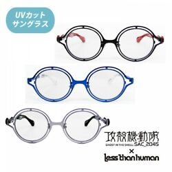 Ghost In The Shell Sac_2045 × Less Than Human Collabo Sunglasses Uv Cut Japan