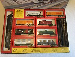 Vintage Tyco Train Set  Mammoth Of The Rails  Ho Scale 1965