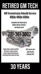 Rebuilt 4l80e Transmission - 4l60e And Any Gm Transmission Contact Me Before Buyin