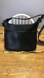 Coach Legacy Crossbody 9966 Black Vintage $75.00
