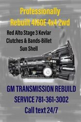Rebuilt 4l60e 2wd 4x4 Transmission Retired Gmtech30years Contact Me Before Buyin
