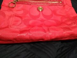 Coach magenta coach crossbody bags handbags $40.00