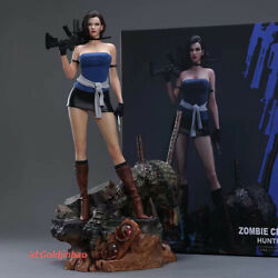 Green Leaf Jill Valentine Resin Model Painted Statue Pre-sale 1/4 Scale Cast Off