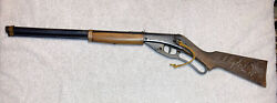 Vtg 1940 Daisy Red Ryderbb Gun Rifle Carbine 1st Variant Plymouth Copper Band 1