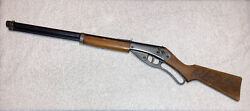 Vtg 1940 Daisy Red Ryderbb Gun Rifle Carbine 1st Variant Plymouth Copper Band 2