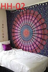 Mandala Tapestry Wall Hanging Bohemian Tapestry Twin Cotton Home Decor Tapestry