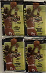 2009-10 Upper Deck Basketball Sealed 4 Pack Lot-1 Rc Per Pack. Curry Rc Htf