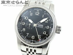 Oris Big Crown Small Second Pointer Day 01 745 7629 4064-07 8 22 76 Watch Used
