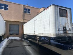 1980 40ft Refrigerated Trailer In Working Condition.w/ Title. Read Description