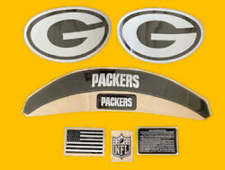 Packers-black Ice Out Speed Complete Decal Set.