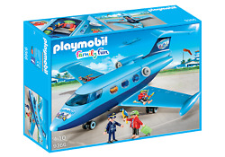 Playmobil 9366 Funpark Summer Private Jet Airplane Plane 5619 5395 3185 5811 New