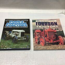2 Tractor Books Ford And Fordson Tractors And Farm Tractor Color History Fordson