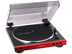 Audio-technica At-lp60x Rd [red] Vm Cartridge Phono Equalizer Record Player