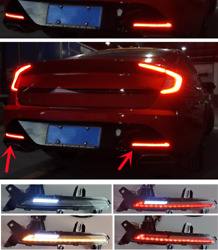 Led For Hyundai Sonata 20-2021 Rear Fog Lights Brake Brake And Reversing Lights