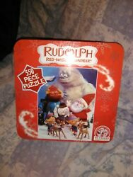 Rudolph The Red-nosed Reindeer 550 Piece Puzzle In Tin - Usaopoly New Sealed