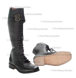 Ww2 German Sa Officer Boots - Repro Size Made To Your Sizes