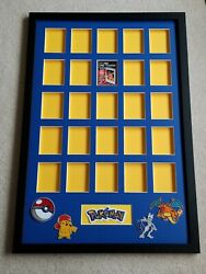 25 Card Pokemon Card Display. Can Be Customized To Fit Any Size Case Quality