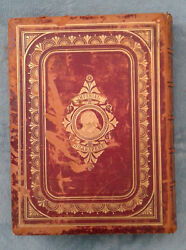 Antique Leather Cover Imperial Shakespeare - Volume I And Ii - Very Rare Books